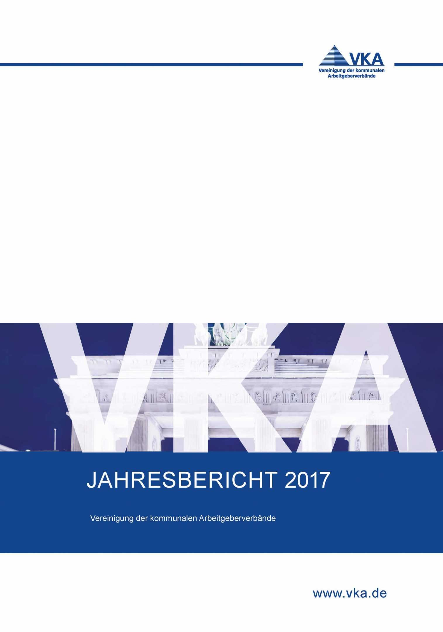 Design Jahresbericht VKA 2017